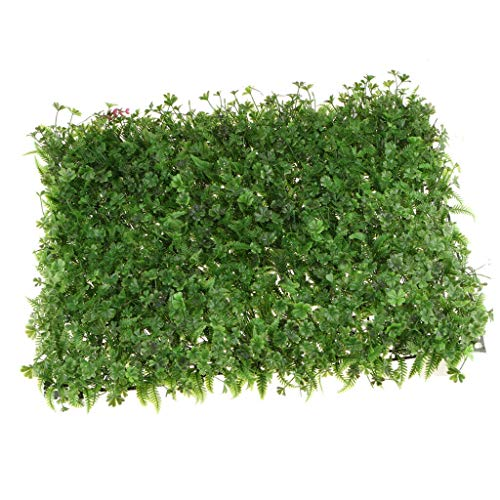 BROSCO Artificial Turf Flower Wall Panel Wedding Backdrop Hanging Props | Color - #6