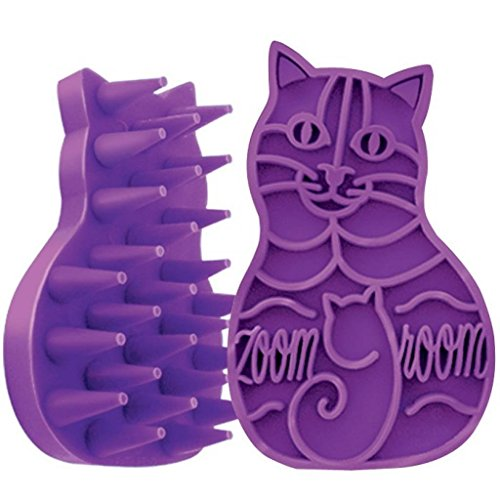 Cat Zoom Groom Color:Purple Size:Pack of 2