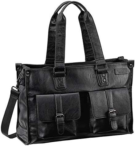 平野鞄 トートバッグ カジュアルバッグ メンズ B4 タブレット対応 カジュアル 通学 通勤 旅行 黒 ブラック 横幅44cm +オリジナル高級ムートングローブ