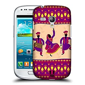 Head Case Designs Indian Ethnic Dances Protective Snap-on Hard Back Case Cover for Samsung Galaxy S3 III mini I8190