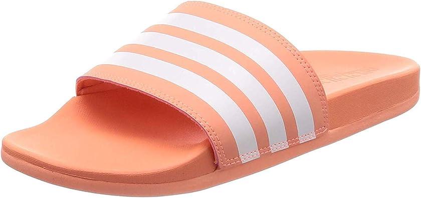 adidas Claquette Femme Adilette Cloudfoam Plus Stripes ...