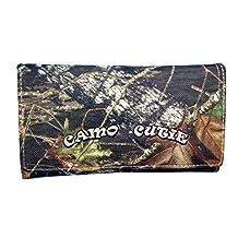 Womens Mossy Oak Camo Cutie Wallet Tri-Fold Camo Wallet BT-3
