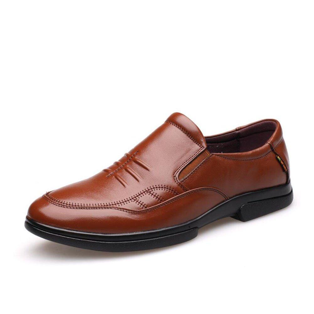 CAI Herren Loafers 2018 Four Seasons Loafers & Slip-Ons Tägliche Bequeme Wanderschuhe Herren Büro Reise Freizeitschuhe (Farbe   Braun, Größe   40)