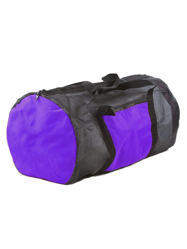Rock N Sports Convertible mesh backpack/duffel bag Purple