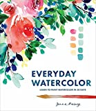 img - for Everyday Watercolor: Learn to Paint Watercolor in 30 Days book / textbook / text book