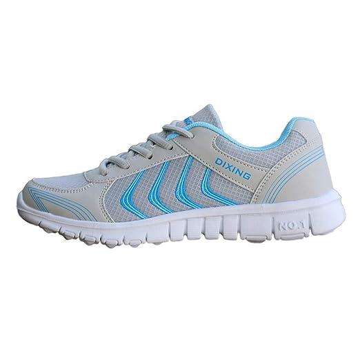 Qiusa Fashion - Zapatillas Deportivas para Mujer (Malla ...