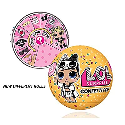 L.O.L. Surprise Confetti Pop Series 3 Wave 2 Bundle Of 2 Dolls: Toys & Games