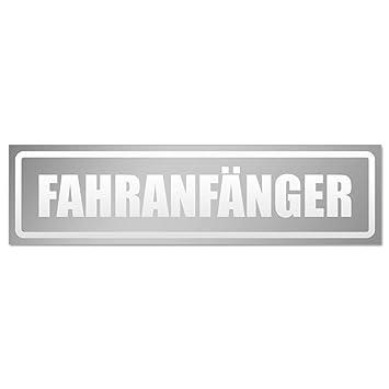 Kiwistar Fahranf/änger invertiert Magnetschild Schild magnetisch