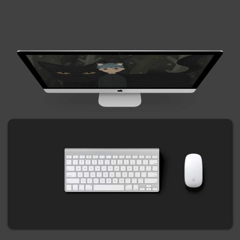 51x26inch FF/&XX Water-Resistant Not-Slip Mouse Pad,Extended Leather Gaming Mouse Mat Large Mousepad Keyboard Pad Office Writing Desk Table Pad-f 130x65cm