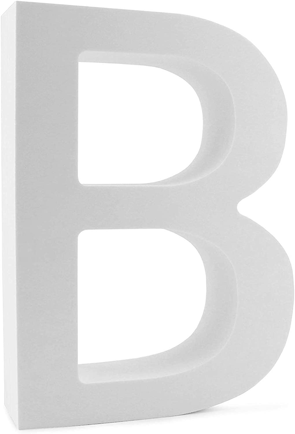 Cornucopia 12-Inch EVA Foam Letter B for Events, Parties, Weddings and Businesses