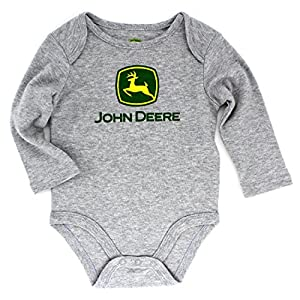 John Deere Baby Long Sleeve Bodysuit