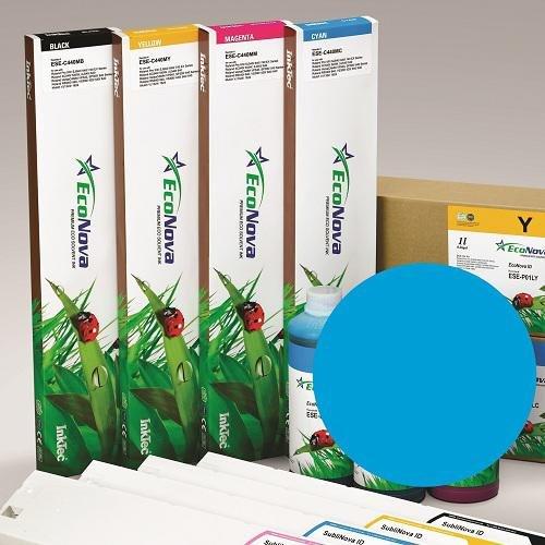 InkTec Cartucho de 440ml de Tinta Eco-SOLVENTE para plóters Roland (DX7), Cian, EcoSol: Amazon.es: Electrónica