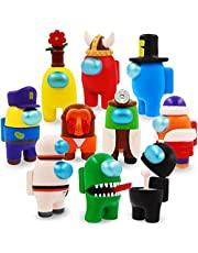 GOGOMOMOR   بيننا تويز ميرش   بين شخصيات مجسمة   تململ رائد الفضاء   هدايا رواد الفضاء لمحبي الألعاب وحفلات أعياد الميلاد للأطفال (10 قطعة مجموعة C)