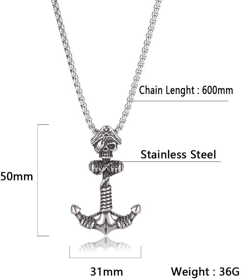 Mens Stainless Steel Necklace Buddha Statue Pendant 23.6Chain Good Luck HkFcle Non-Mainstream Fashion Pendant Necklace