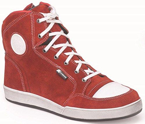 Textile Textile Textile En Cuir Hipora De Sport Sneaker Homme Cuisinier Chaussures Chaussures Chaussures Chaussures Doublure Miami Zip Rouge Unisexe qSBf4nwvx
