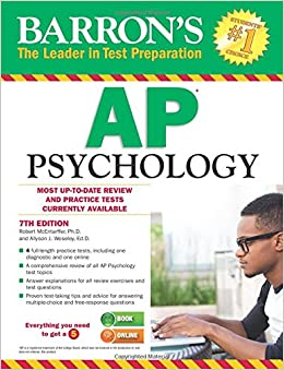 barron 39 s ap psychology 7th edition barron 39 s ap psychology exam 9781438007434. Black Bedroom Furniture Sets. Home Design Ideas