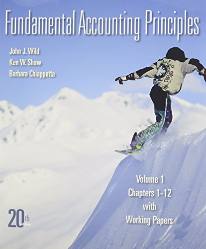 Fundamental Accounting Principles Vol 1 Softcover with Conect Plus
