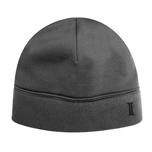 Igloos Men's Softshell Fleece Beanie, Dark Shadow, One (Shadow Fleece Cap)