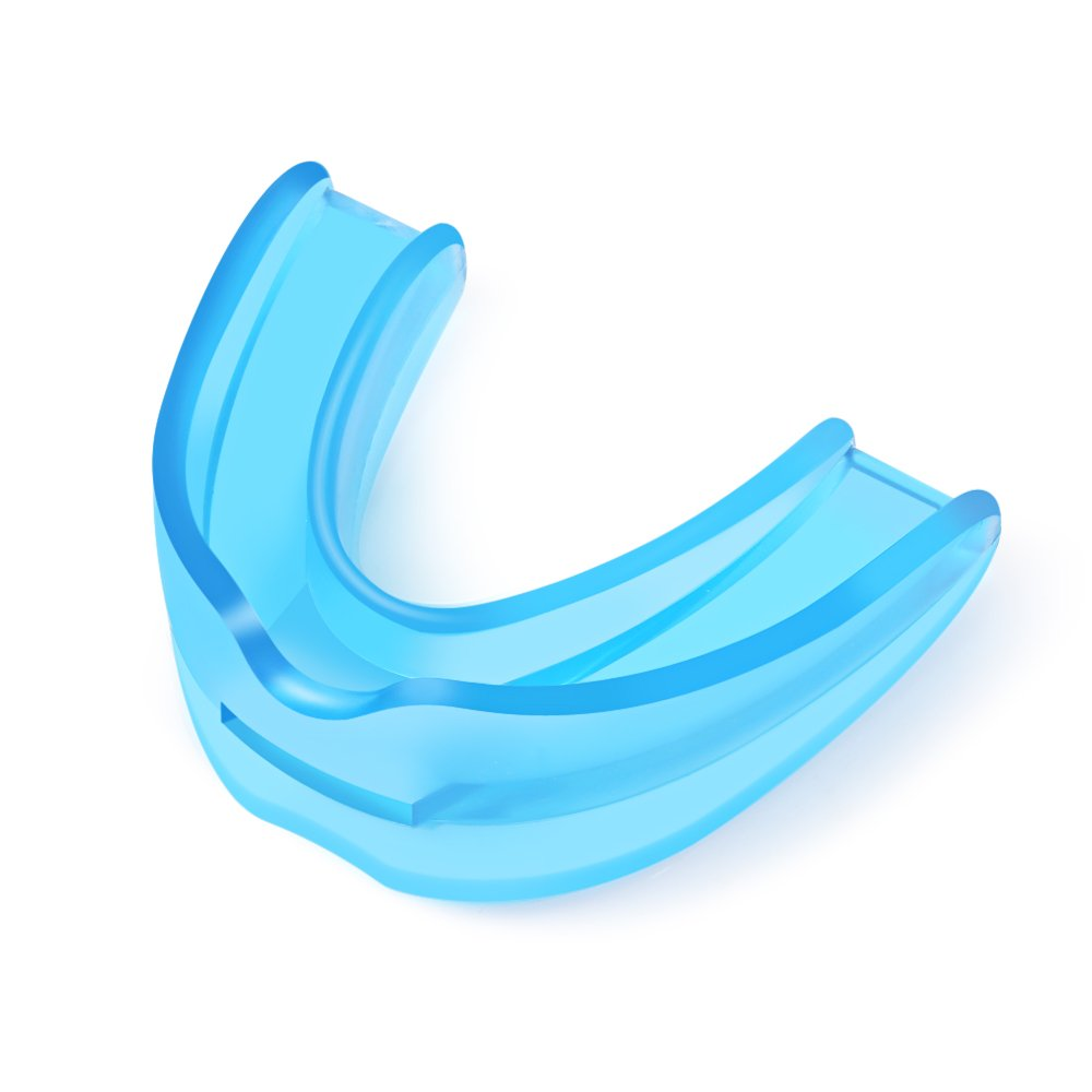 Sleep Mouth Guard for Grinding Teeth - Sleep Aid Dental Night Guard For Snoring TMJ Bruxism Protectors - Anti Snoring Solution Mouthpiece Snore Guards - Moldable Custom Fit Design by AIHHIA by AIHHIA