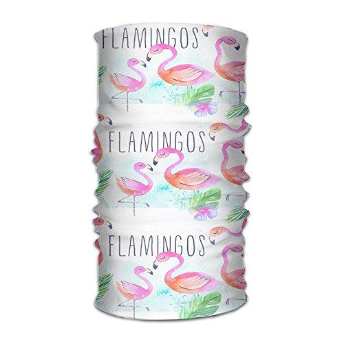 ZZATAA Flamingos Headwear Hats Elastic Head Wrap Scarf Hair Band (Echoes Of Time Costumes)