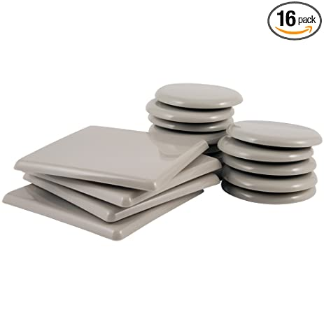 Reusable Furniture Movers For Carpeted Surfaces Value Pack (16 Piece)    5u0026quot; Square