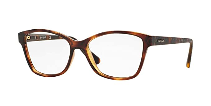 a9688fda5a Image Unavailable. Image not available for. Color  VOGUE Eyeglasses VO  2998F W656 Dark Havana 54MM