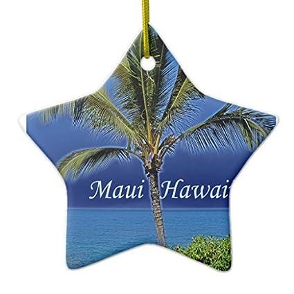 Christmas In Hawaii Decorations.Amazon Com Novelty Christmas Tree Decor Maui Hawaii