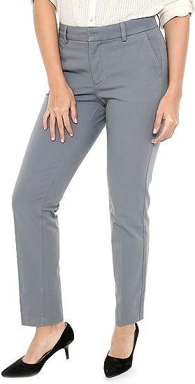 Dockers Pantalon Gris Pantalones Para Mujer Gris Talla 2 Amazon Com Mx Ropa Zapatos Y Accesorios