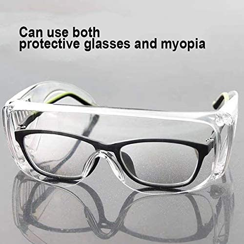 Majome Clear Transparente Schutzbrille Eyes Shield Schutzbrille Anti Infection Splash
