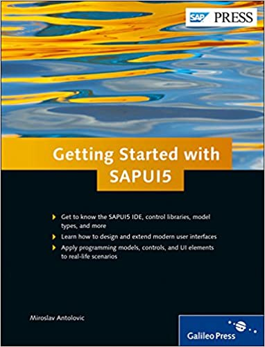 Amazon com: Getting Started with SAPUI5 (9781592299690