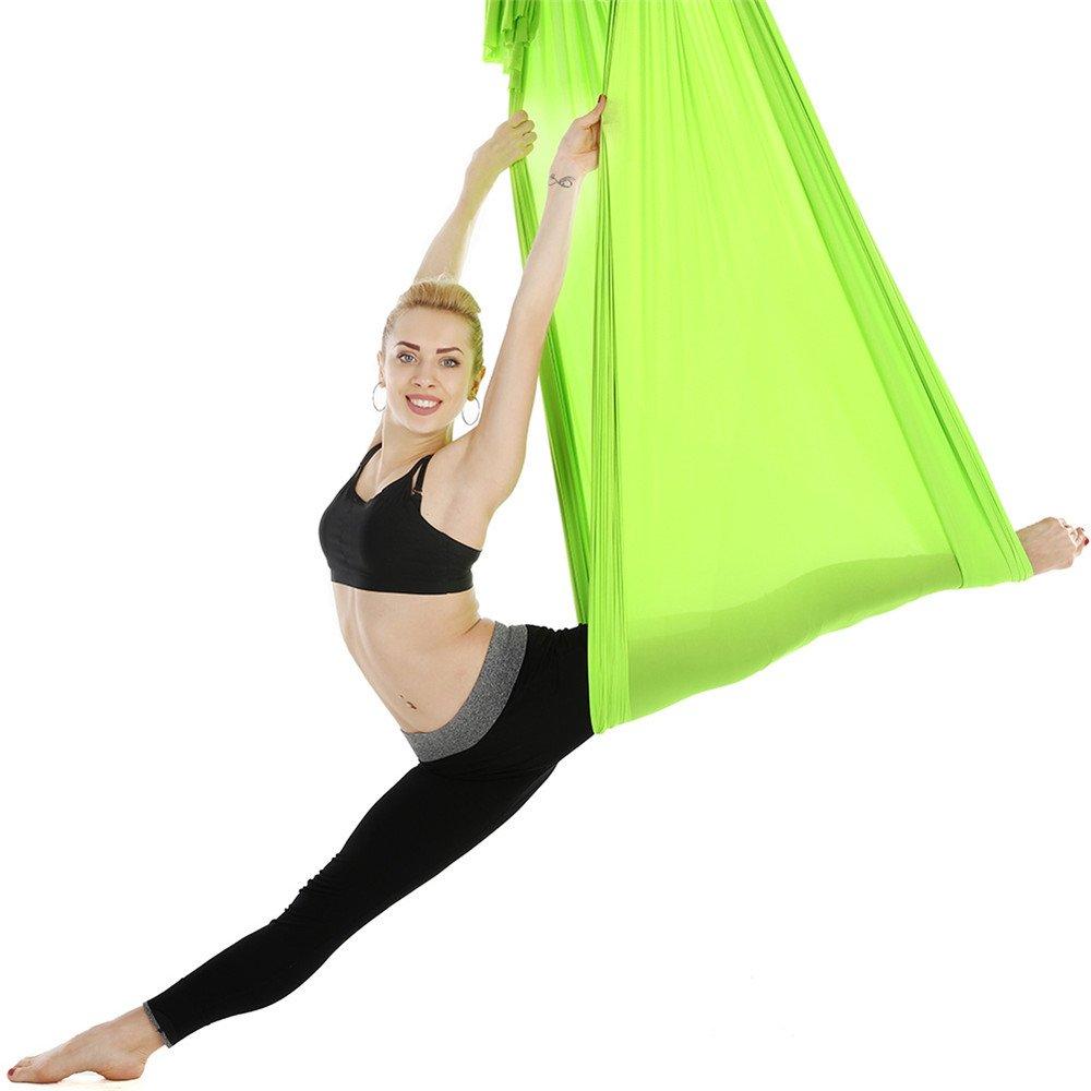 JFJL Hamaca De Yoga Aérea - Flexibilidad Mejorada Y Fuerza ...