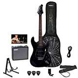 Best beginner electric guitar - Sawtooth ST-ES-SPIDER-KIT3-BKB ES Electric Guitar Rockin' Beginner's Pack Review