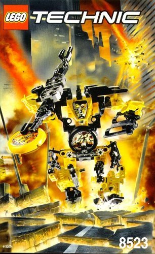 LEGO Technic THROW BOTS Blaster # 8523