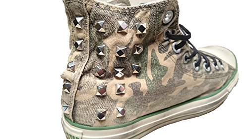 Converse All Star Limited Edition Kamouflage/borchie