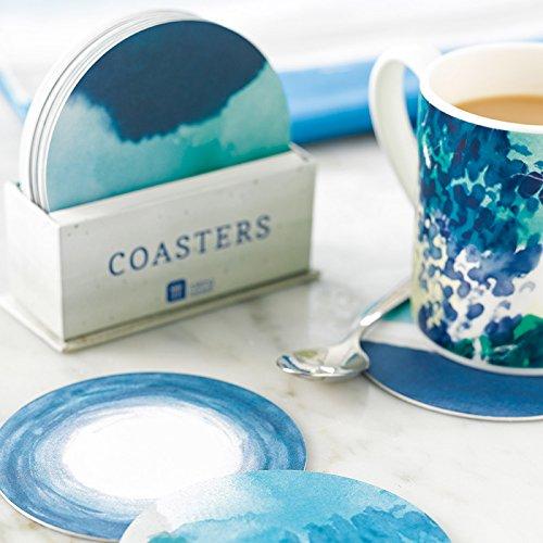 Talking-Tables-Coastal-4-Designs-Card-Coasters-12-Pack-Multicolor