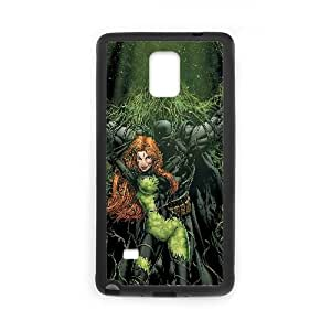 Batman And Poison Ivy Comic Samsung Galaxy Note 4 Cell Phone Case Black PhoneAccessory LSX_943970