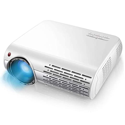Ai LIFE Proyector 1080p Proyector de Video 13000 Lux HD con ...