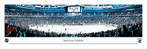 Nhl Vancouver Canucks Framed (Vancouver Canucks - Blakeway Panoramas Unframed NHL Posters)
