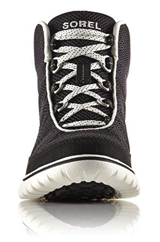 SOREL Womens Tivoli Go High Sneaker Black, Stone
