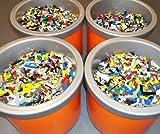 Lego 1-99 Pounds LBS Parts & Pieces HUGE BULK LOT bricks blocks w/ 1 MINIFIG