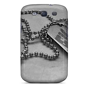 New AYd8075rcwc Dogtag Tpu Cover Case For Galaxy S3