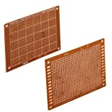 Set 5pcs Prototyping PCB Circuit Board Stripboard 90x70mm