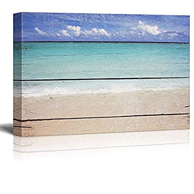 Painting Artwork for Home Framed ( Tropical) - Canvas Art