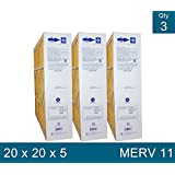 Clean Comfort Merv 11 Replacement Filter for 20x20 Media Cleaner