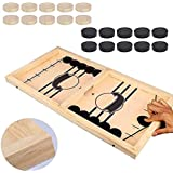 Fast Sling Puck Game Paced,Tinfence Table Desktop Battle,Winner Board Games Toys for Adults Parent-Child Interactive Chess To