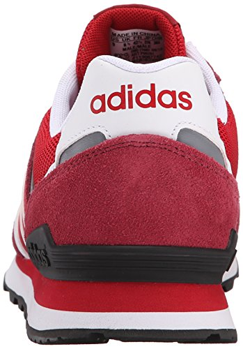 Men's 10K Red Sneaker White Collegiate NEO Burgundy Power Lifestyle adidas Runner UREcWWw5q