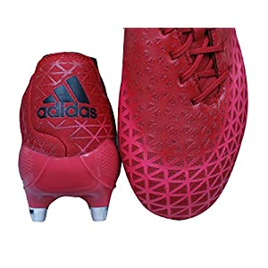 adidas Adizero Malice SG Mens Rugby Boots-Red-10.5