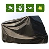 Outdoor Black Waterproof Bicycle Cover Small Scooter Moped Bike Storage YQ6AB