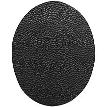 Leather Repair Patchs 2 Pcs - Self-Adhesive for Sofa Car Seats and Bags (Black) - by Beaulegan