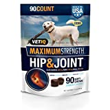 VetIQ Hip & Joint Soft Chew Treats for Dogs, 11.1oz